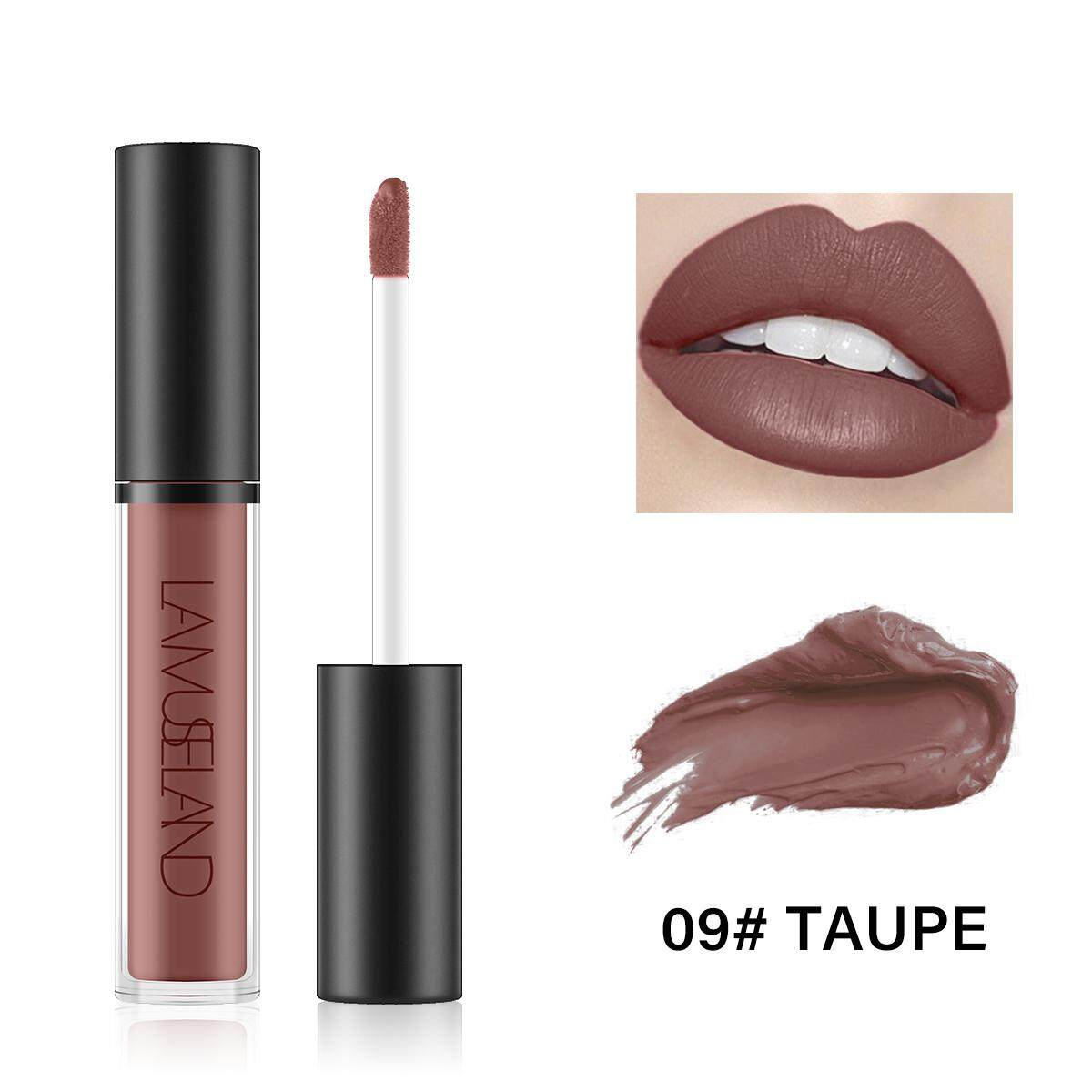 Lamuseland Matte Waterproof Long-Lasting Lip Gloss Liquid Lipstick La01 By Barbiecosmetic.