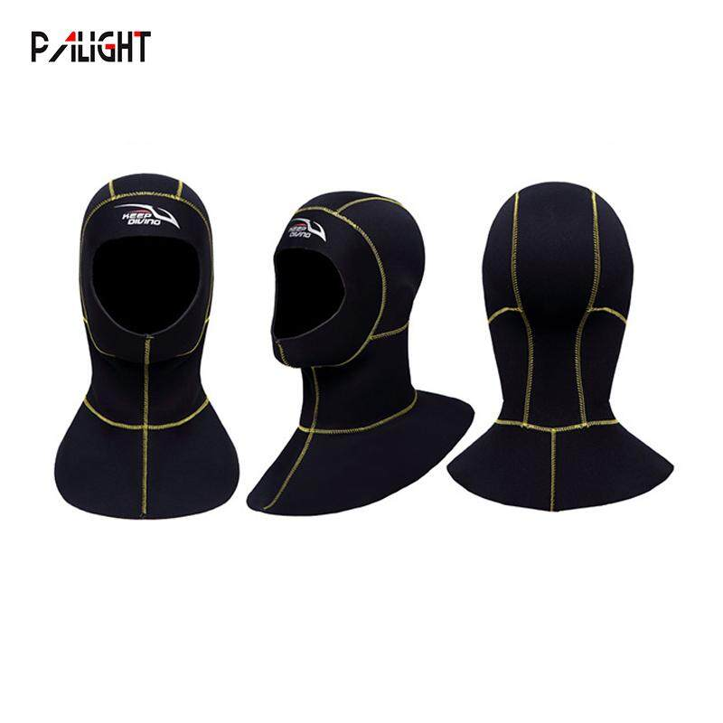 PAlight 3MM Neoprene Lặn biển Hood với Vai Lặn Mũ Trùm Đầu 9