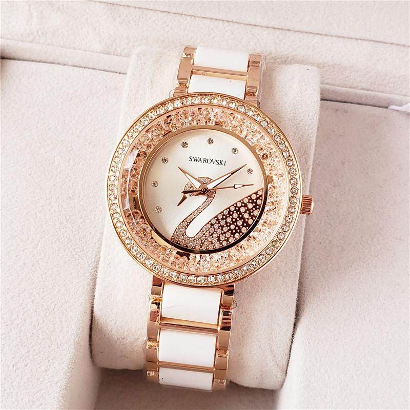 Original_Swarovski Womens rhinestone series business trend watch Malaysia