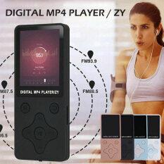 Máy Nghe Nhạc Mini Bluetooth Mp3 Mp4, Máy Nghe Nhạc FM Radio Hi-Fi Không Mất Dữ Liệu Có Thể Xem Phim Nhỏ Hỗ Trợ Thẻ Nhớ Ngoài TF