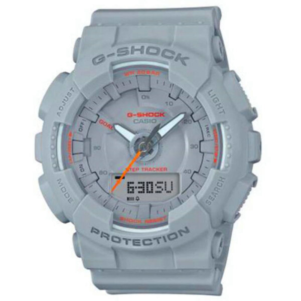 Casio G-Shock S Series For Women GMA-S130VC-4A 200M Water Resistant Shockproof and Waterproof World Time LED Auto Light Wist Sports Watches with 2 Year Warranty Malaysia