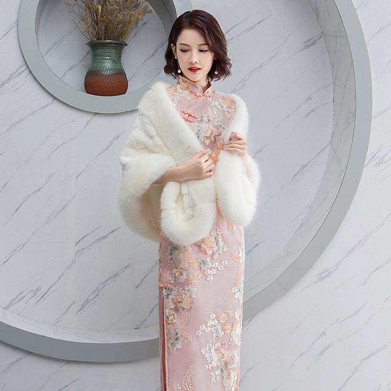 810391bb9 2019 New Fashion Lady Improved Lace Embroidery Slim Qipao Dress Women Daily  Chinese Style Summer Dignified