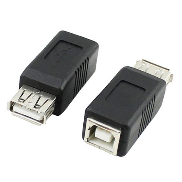 wuyangmin USB Type A Female to Printer Scanner Type B Female Adapter Adaptor Converter