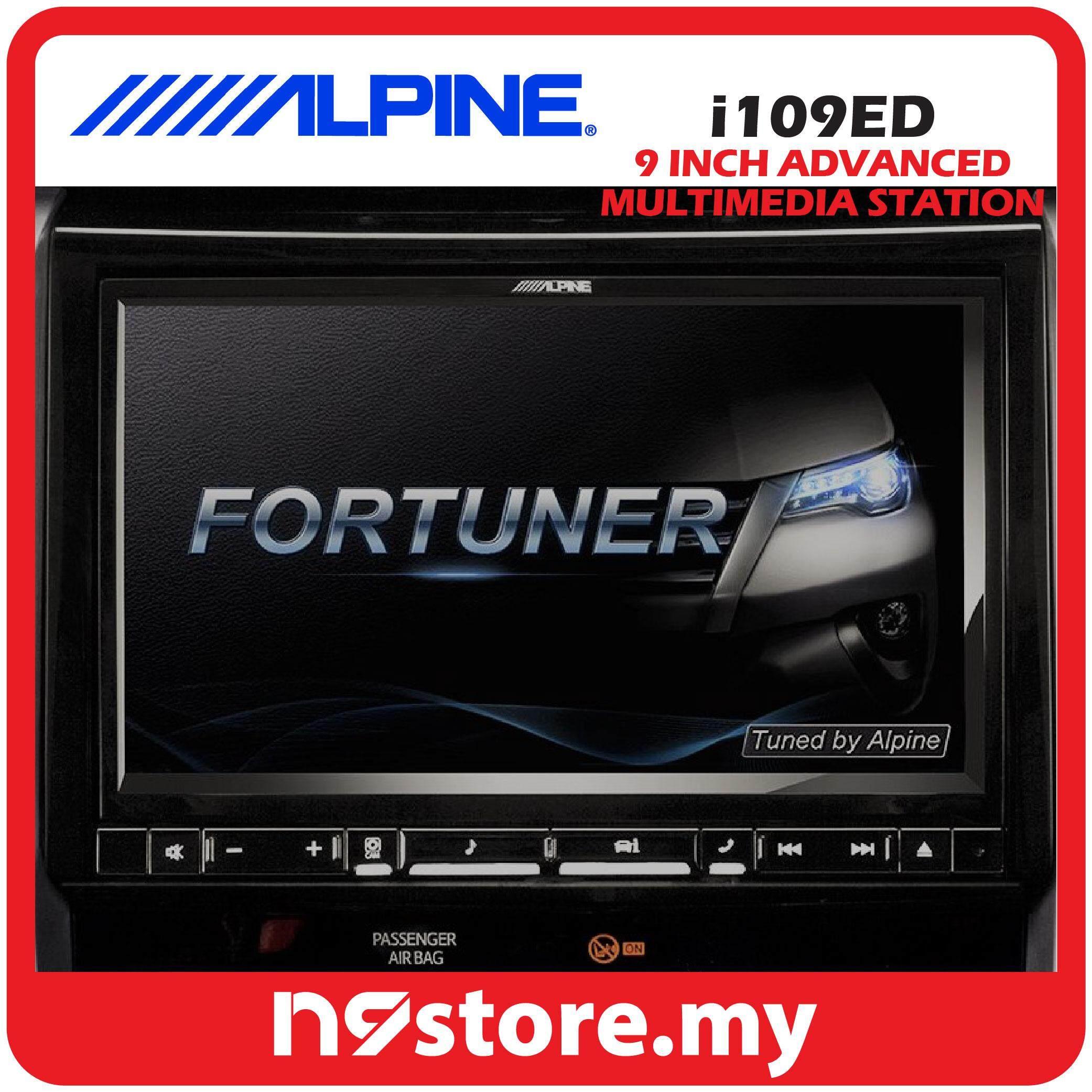 "Alpine i109ED 9"" Touch Screen LED/WVGA display Advance Multimedia Station"