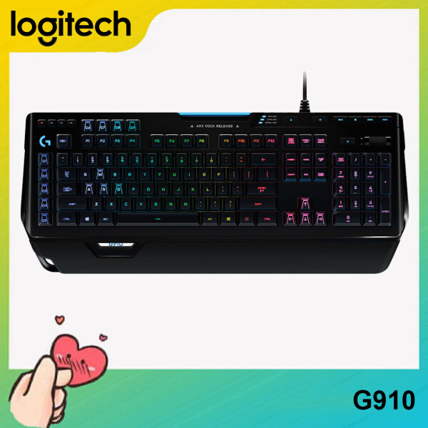[Ready to Ship] Logitech G910 ORION SPECTRUM RGB Mechanical Gaming Keyboard For PC Laptop Computer Singapore