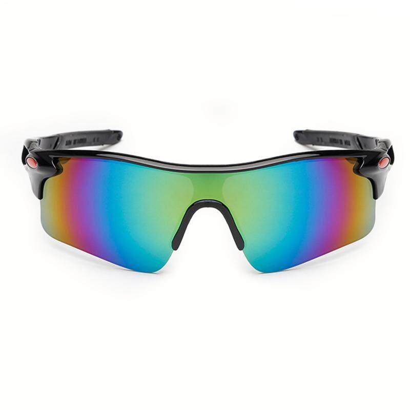 Y-Crown Olahraga Berkuda Luar Ruang Kacamata Hitam Kacamata Sepeda  Windproof Tahan Pasir Terpolarisasi Kacamata e74d3d213a