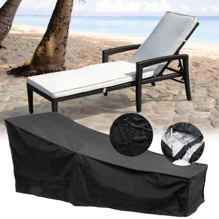 ROVE Water Resistant Sunlounger Cover Outdoor Sun Lounge Chair Cover Protector