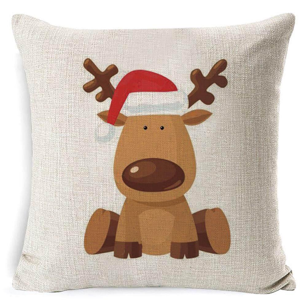 18 Vải Bông Giáng Sinh Xmas Tất Gối Ném Đệm Trang Trí Nhà Giá Siêu Rẻ