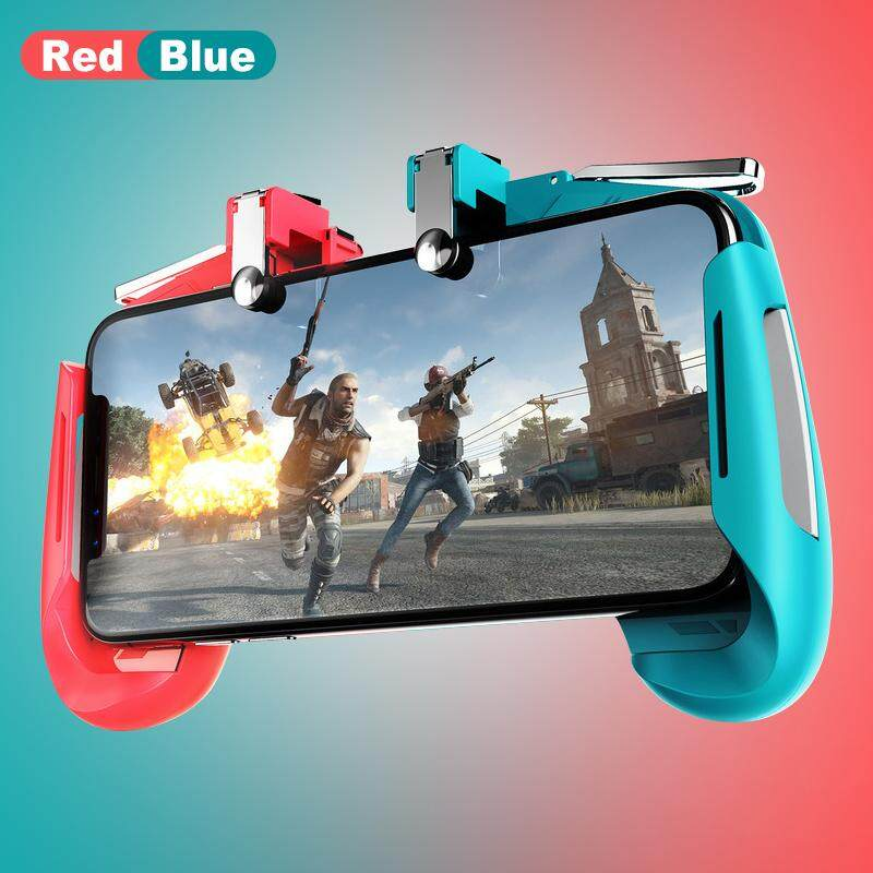 AK16 PUBG Controller Gamepad Pubg Mobile Game Pad for iPhone Trigger Fire  Button L1R1 Joystick Pubg Gamepad Android