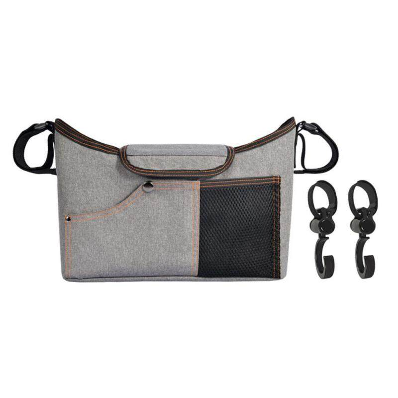 SilyNew Baby Stroller Organizer Bag with Changing Pad and Large Storage Diaper Bag for Universal Stroller Accessories Singapore
