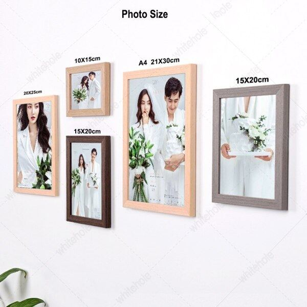 No Varnish Wooden Picture Frame For Wall Nature Solid Wood Frame Wall Hanging Photo Frame Poster Frames For Pictures Home Decor