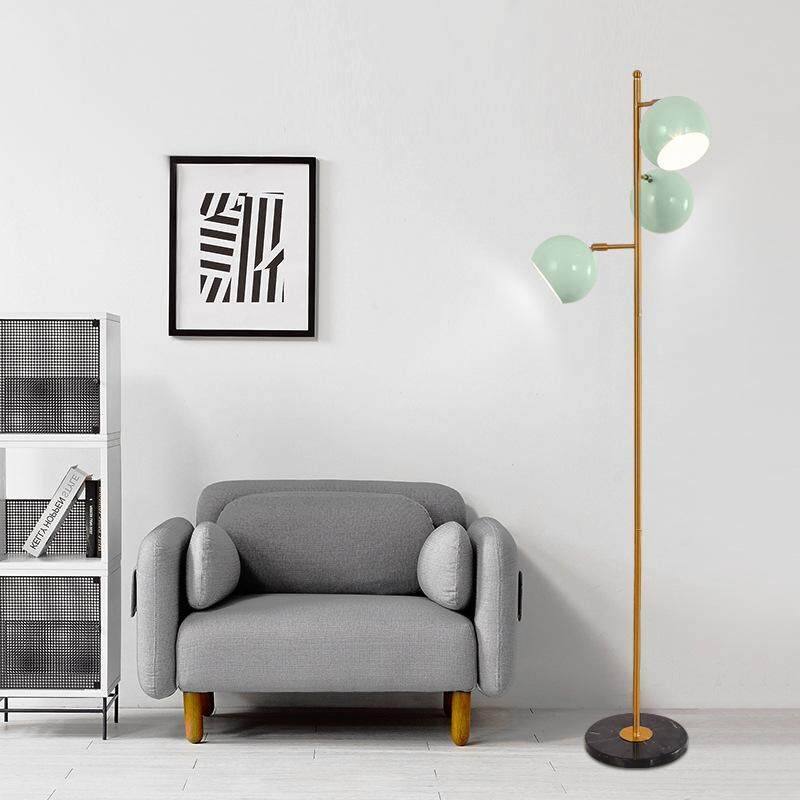 Macaron Nordic Creative Fashion Personality Simple Floor Lamp Color for Living Room Bedroom Dinner Area