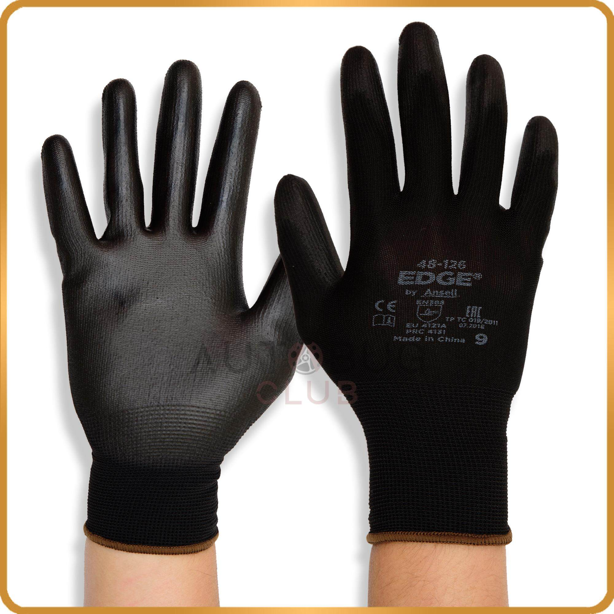 Ansell Edge® 48-126 Tear Resistance & Anti Slip Protective Gloves