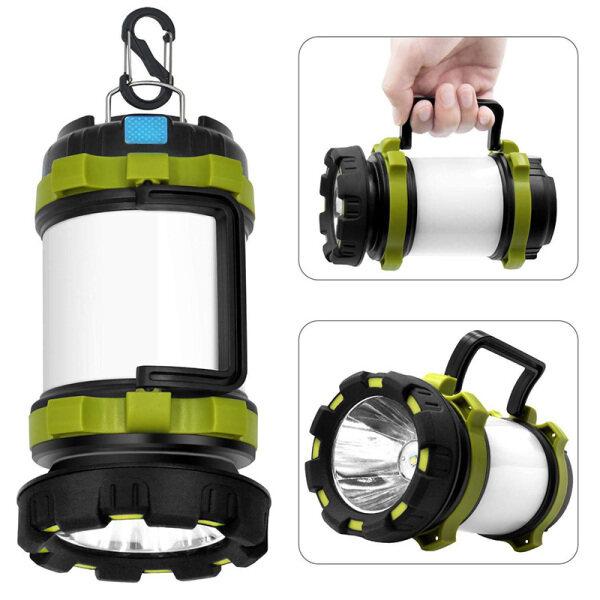 New CPL02 LED Lantern Xách Tay Đèn Pin Cắm Trại Đèn Ngoài Trời Tìm Kiếm Ánh LED Torch - Hàng quốc tế | Lưu ý thời gian giao hàng dự kiến