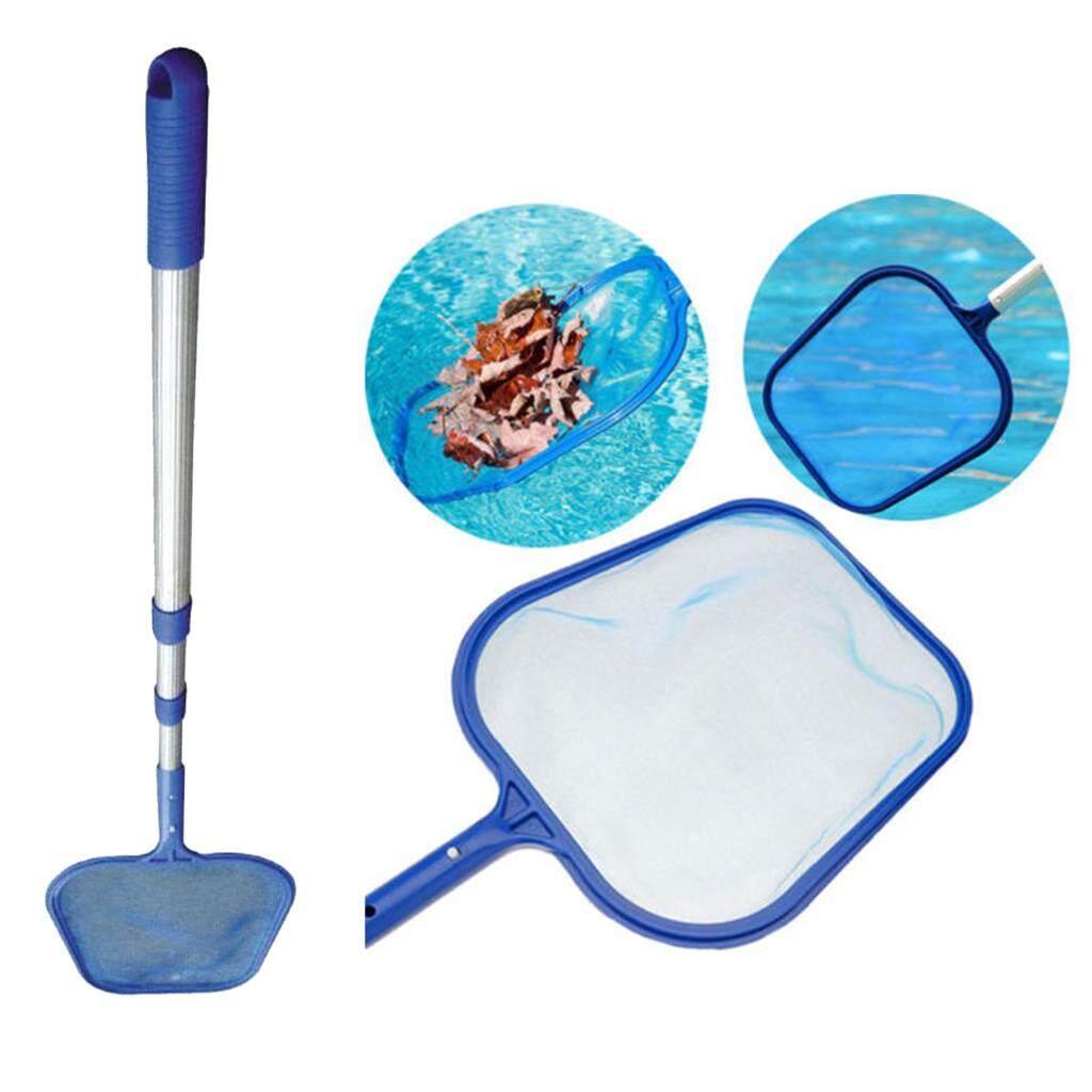 Loviver Easy Use Swimming Pool Leaf Skimmer Net with Pole Koi Ponds Spa Hot  Tub Tool