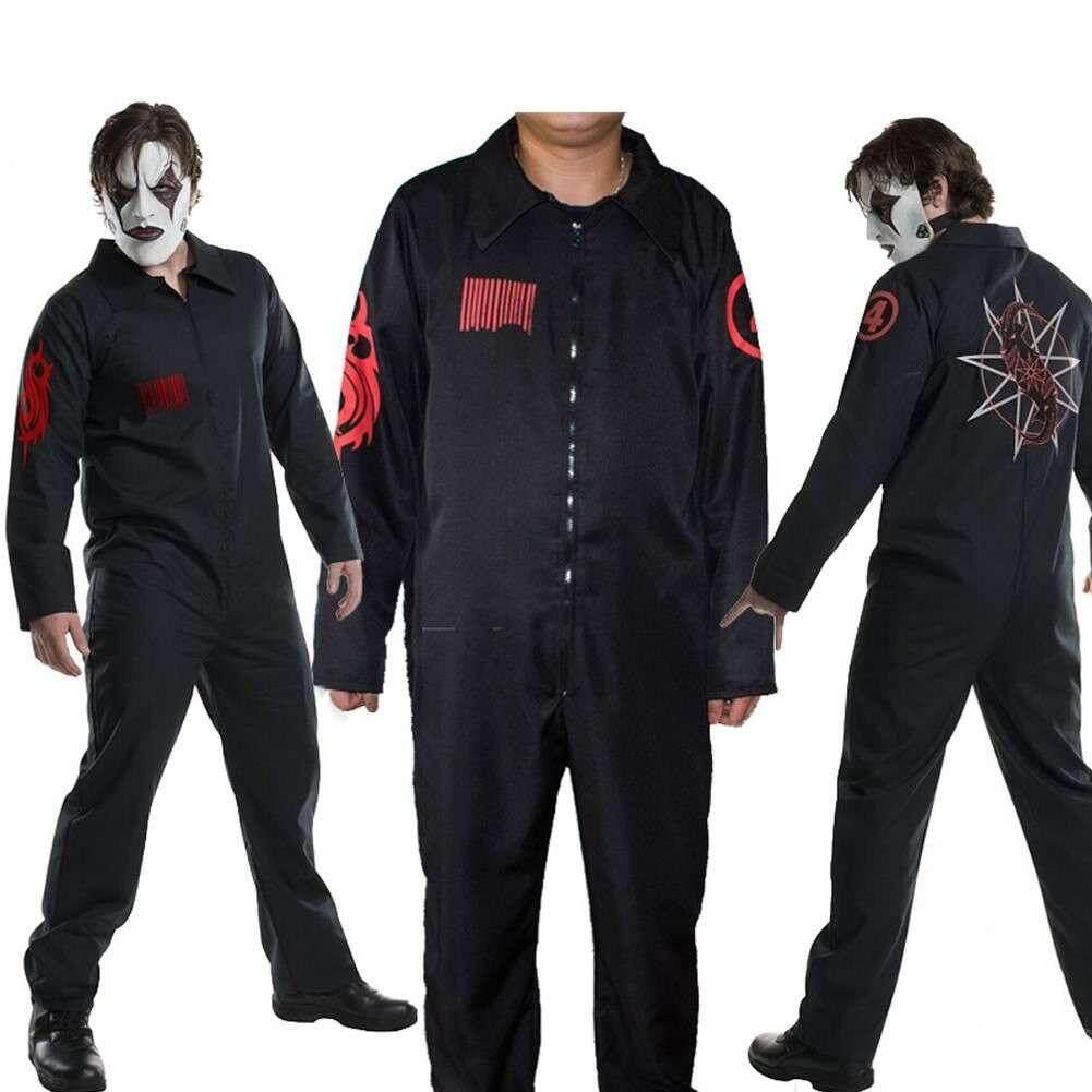 Adult Slipknot Band Team Uniform Cosplay Masquerade Costume Halloween Suit