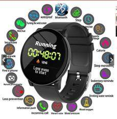 Jtweb Mứt W8 HD Màn Hình Đồng Hồ Thông Minh Smartwatch 1.14 Inch Màn Hình Chống Nước Nhịp Tim Bluetooth Vòng Tay Thể Thao
