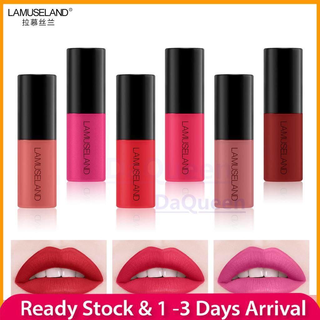 12 Colors Waterproof Long-Lasting Mini Lipstick Matte Lip Gloss ✨LAMUSELAND