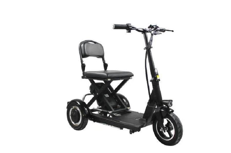 Portable Scooter For Elderly Three Wheel By Fresco.
