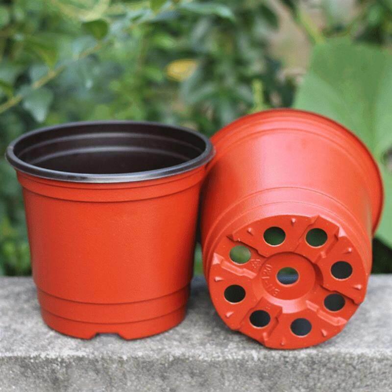 10 Chiếc Vật Có Chậu Hoa Nhựa Bắt Đầu Từ 2 Dây Đa Năng Hoa Mềm Mại Vườn Ươm Hạt Giống Bảo Quản Nồi Hộp Đựng Trang Trí Sân Vườn