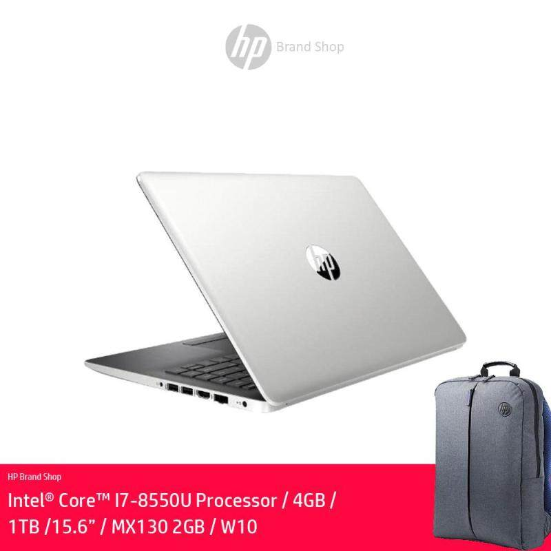 [Exclusive] HP 15-DA0441TX (i7, 4GB, 1TB, Silver) - FREE HP Backpack + RM120 Headset(While Stock Lasts) Malaysia