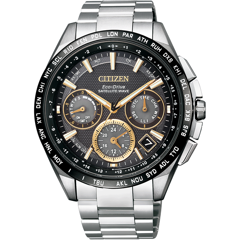 citizen_watch_ Watch Titanium Alloy Satellite Leisure Men Watch Cc9015-54F Malaysia