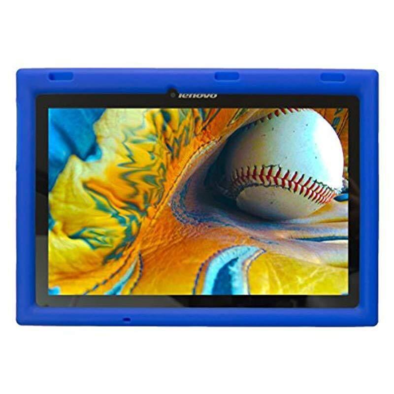Bobj Rugged Case for Lenovo Tab 2 A10-70 A10-70F and Lenovo Tab 3 TB3-X70L TB3-X70F - BobjGear Custom Fit - Patented Venting - Sound Amplification - Kid Friendly (Batfish Blue) Not for TB-X103F