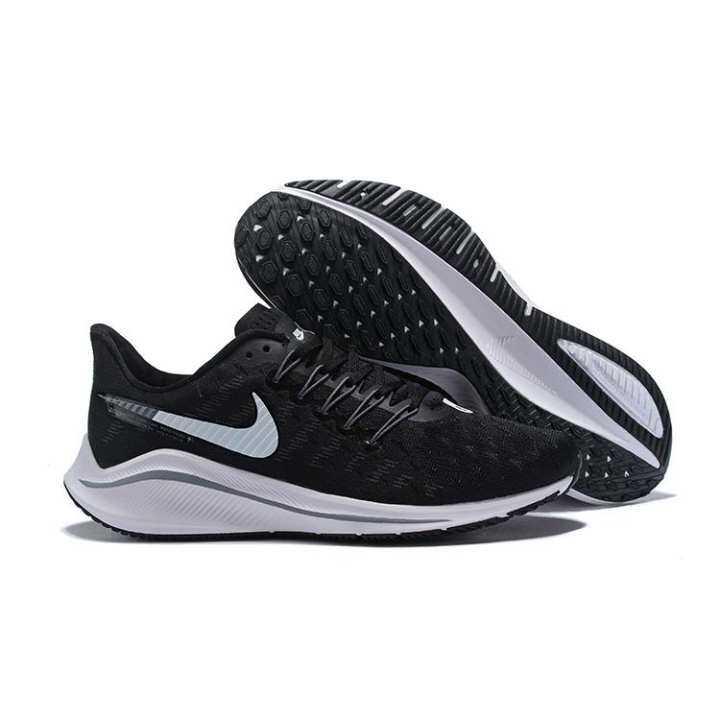 Original NIKE_AIR ZOOM Vomero 14 Pria Sepatu Lari Tahan Shock Menyerap Anti Selip dan Bersirkulasi Udara Sepatu Enteng