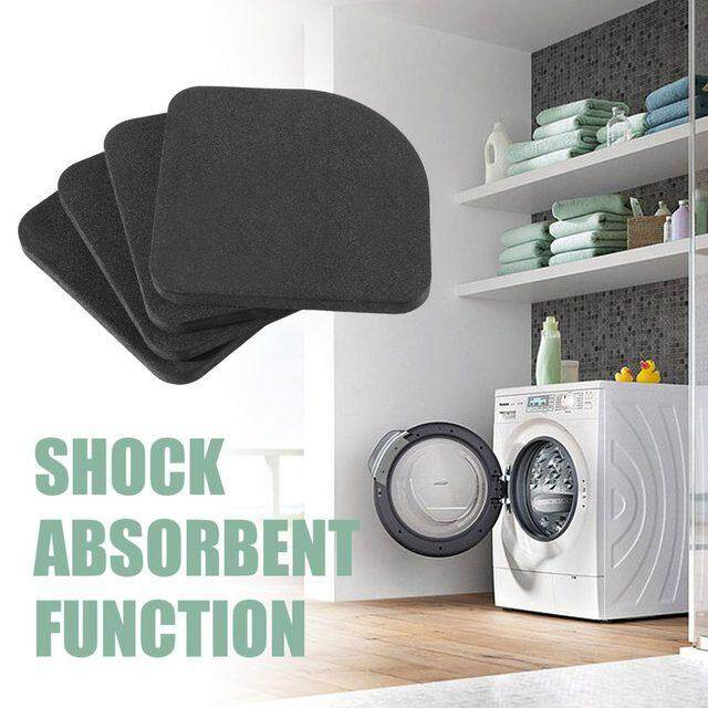 4pcs Anti vibration Pad Mat For Washing Machine Shock Pads Non slip Mat Bathroom