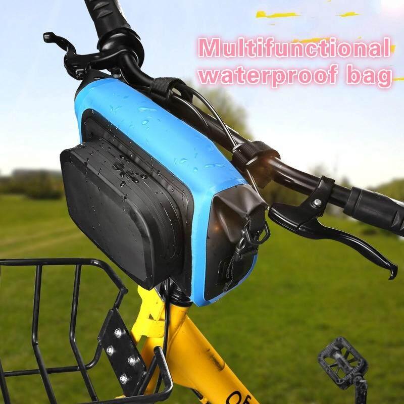 Tempat Kapasitas Besar Tas Sepeda Tahan Air Depan Girder Charter Tas Tangan Depan By Happylele.