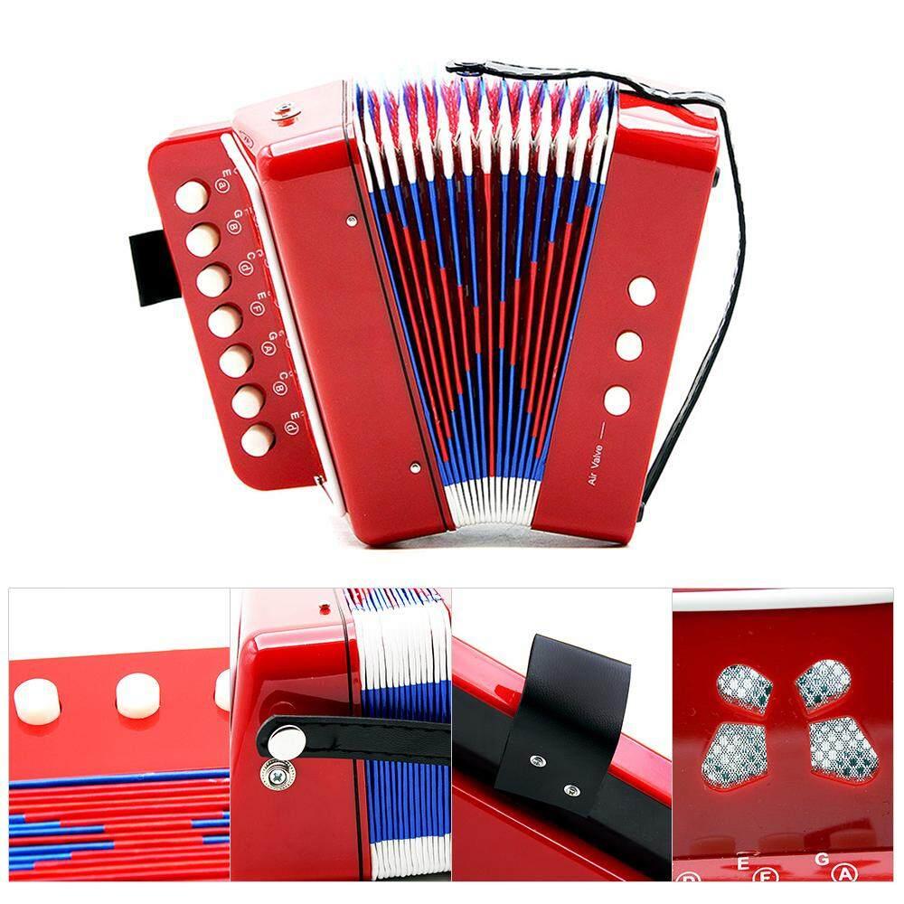 Trẻ Em Trẻ Em 7-Key 2 Bass Mini Accordion Đồ Chơi Giáo Dục Nhỏ Có Giá Siêu Tốt