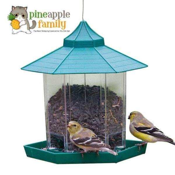 Panorama Gazebo Style Feeder Wild Bird Feeders For Garden Outside