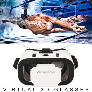 Xách Tay VR Kính Kính 3D Rạp Chiếu Phim Thực Tế Ảo Hỗ Trợ Điện Thoại Thông Minh iPhone 1080P 4.7-6.0 Inch Android IOS thumbnail