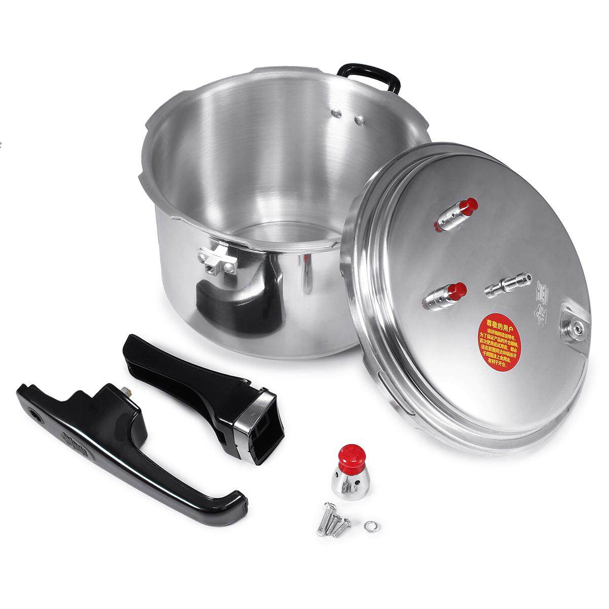 20cm Aluminium Commercial Grade Pressure Cooker 3/4/6.3 Litre 3 Style Kitchen Tools By Freebang.