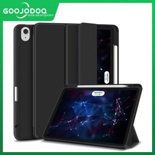 GOOJODOQ 2020 New iPad Trường Hợp Silicone Leather Auto Lật Bìa Cho iPad Air 4 10.9 Inch Với Bút Chì Chủ thumbnail