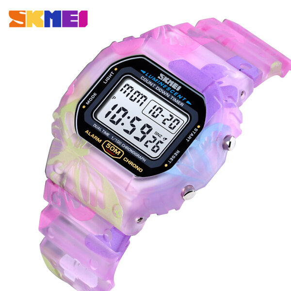 SKMEI Children Sport Watch LED Digital Watches Multifunction Electronic Waterproof Watch For Kids Boys Girls Gifts 1627 Malaysia