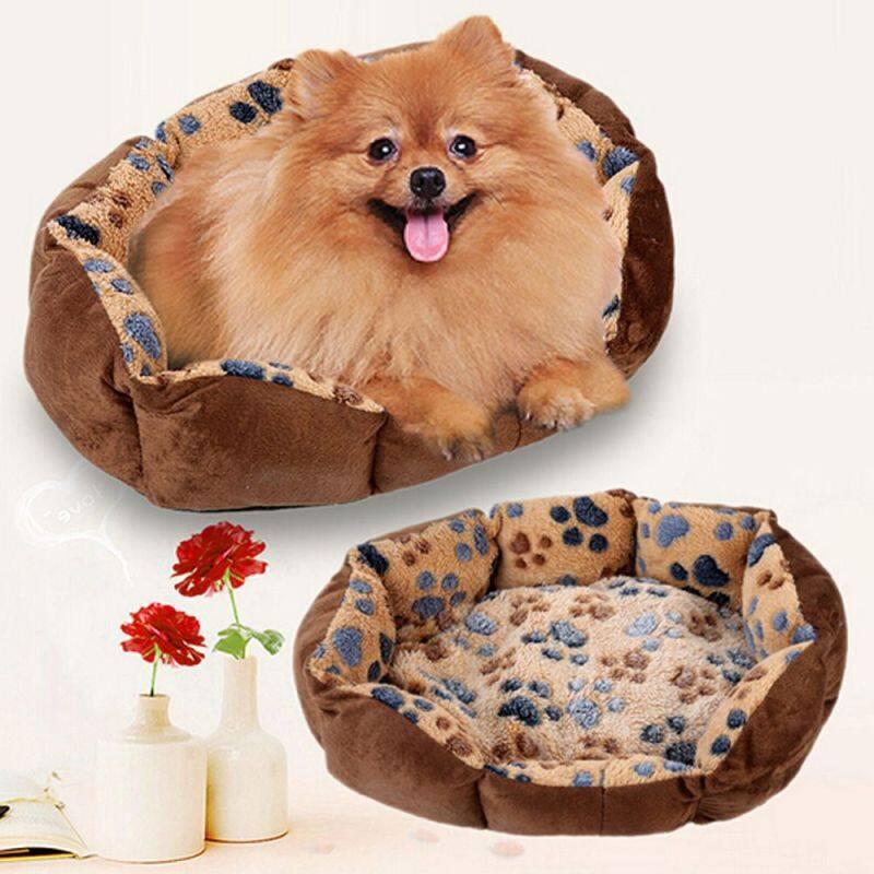 Màu Sắc Ngẫu Nhiên Mùa Đông Mềm Puppy Nhà Lớn Mèo Giường Đệm Nest Dog Chăn Pad Pet Kennel Mat