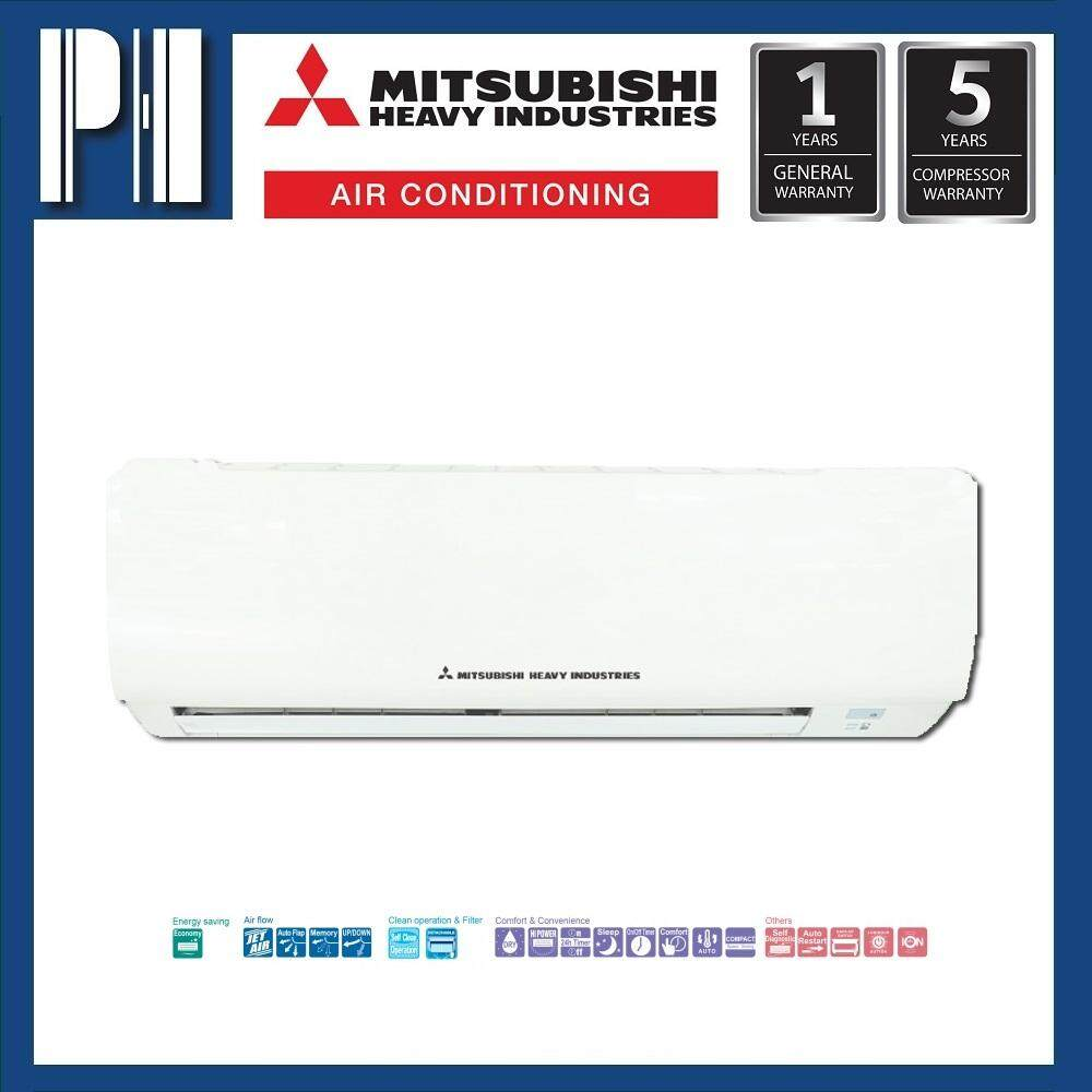 MITSUBISHI HEAVY INDUSTRIES SRK12CT-S4 1.5HP R410a NON-INVERTER SELF CLEAN AIR CONDITIONER