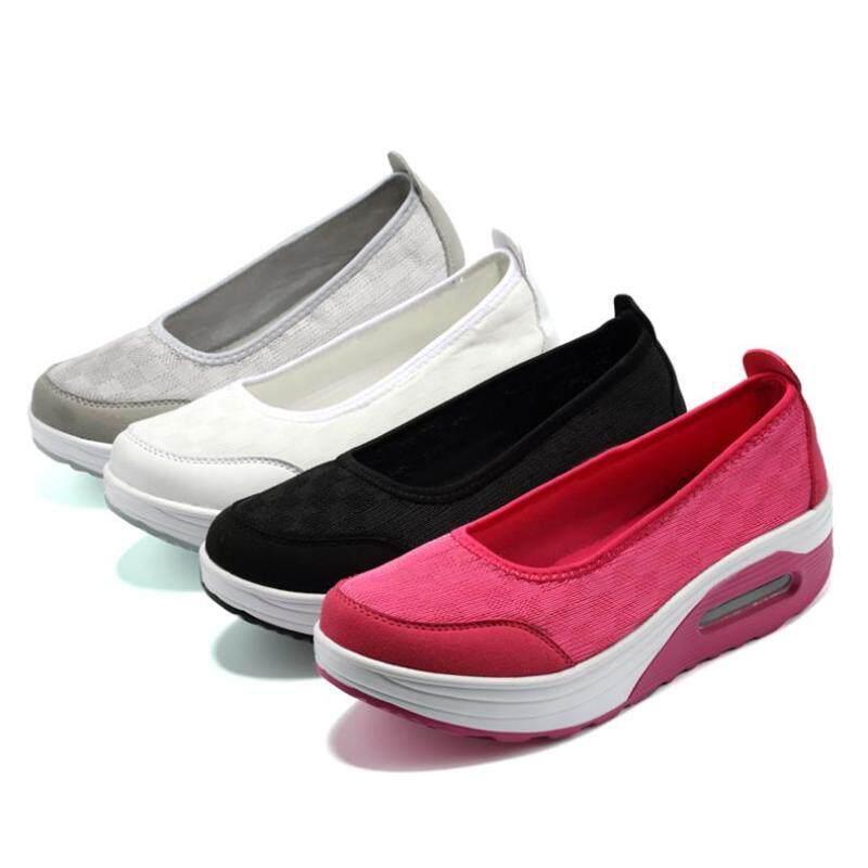 Mùa Xuân Năm 2019 Mùa Thu Đế Phẳng Giày Nền Tảng Cho Chân Trên Dép Nữ Giày Nữ Giày Thể Thao giá rẻ