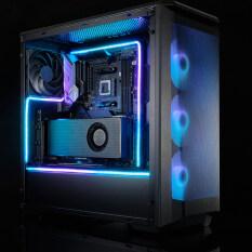 Vỏ Máy Tính 550 Mm Dễ Dàng Lắp Đặt Đầy Màu Sắc Kỹ Thuật Số Tầm Nhìn RGB 3pin Bo Mạch Chủ Bộ Điều Khiển 5 V PC Phụ Kiện Tự Làm Đa Năng Địa Chỉ Dải Đèn LED Gắn Linh Hoạt