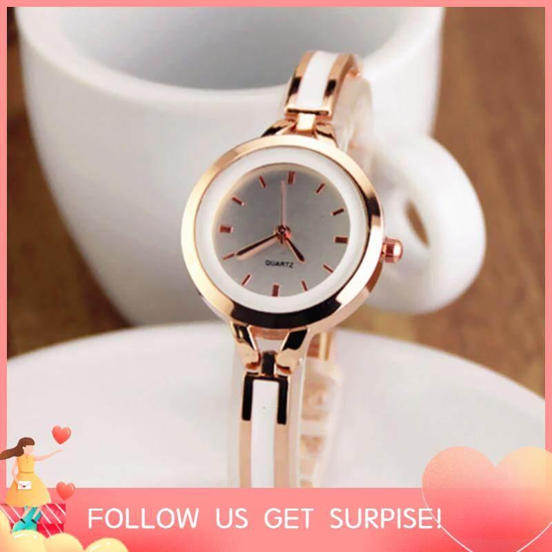 Women Fashion Elegant Quartz Watches Lady Graceful Bangle Watch Trendy Super Slim Wristwatch(Random Color) Malaysia