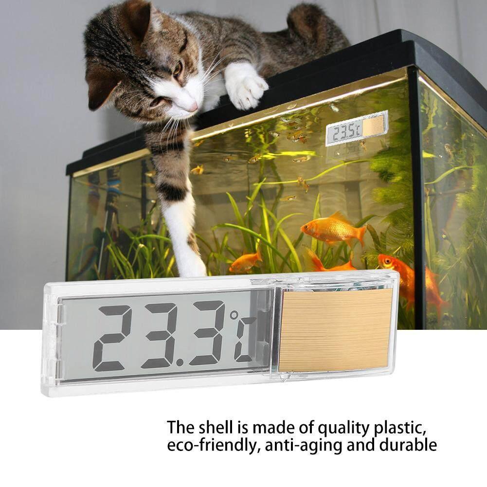 DeeTee LED Digital Fish Tank Aquarium Thermometer Small Size Temperature  Measuring Meter Machine