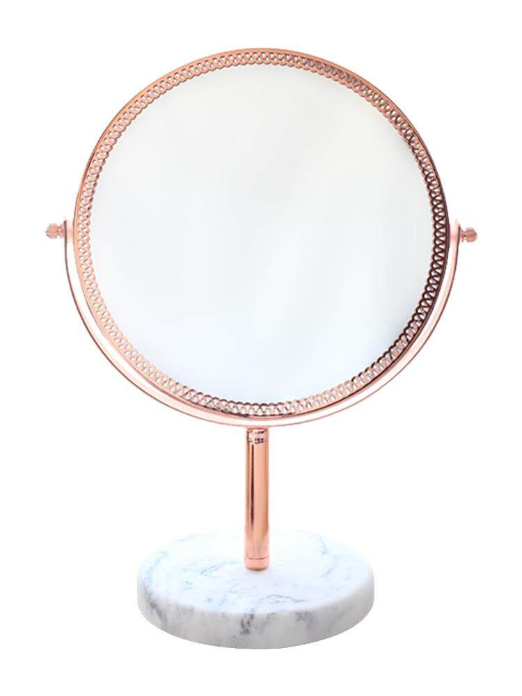 Makeup Mirror Ins Style Desktop Desktop Double-sided Makeup Mirror Girl Mirror Desk Vanity Mirror