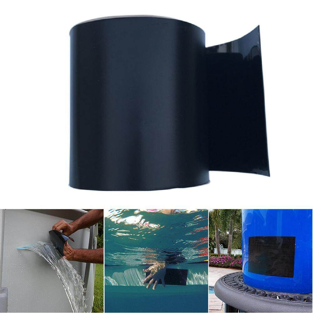 OnLook Patch & Shield Power Tape Black - All Weather Patch Tape tretchy Sealing Tape For Roofing, Waterproof Tape For Pipes Patch Holes & Cracks Butyl Tape