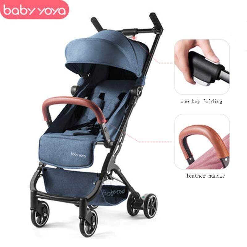 Babyyoya Stroller Mini Yoya Lightweight Portable Folding Baby Carriage 2 In 1 Baby Trolley New Upgrade Baby Car Singapore
