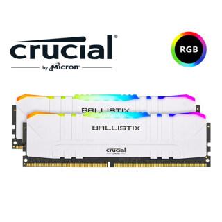 5Cgo Micron Crucial Ballistix RGB D4 3600MHz 16GB(8G 2) Chơi Game Máy Tính Để Bộ Nhớ Đài Loan thumbnail
