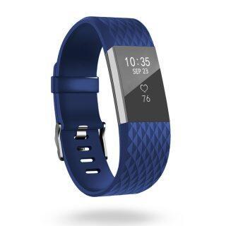 Dây Đeo Thay Thế Silicon 3D, Vòng Đeo Tay Đồng Hồ Thông Minh Fitbit Charge 2 Dây Đeo Fitbit Charge2 Dây Đeo Cổ Tay Dây Đeo thumbnail