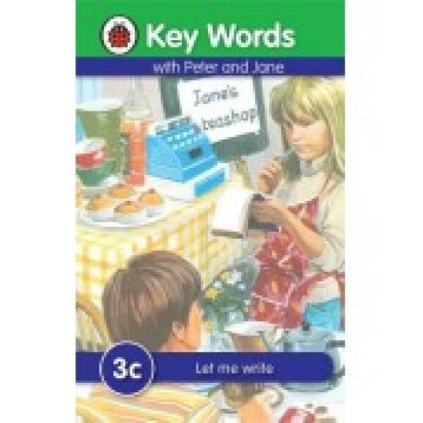 Ladybird Keywords with Peter And Jane Series C - Key Words: 3c Let me write Malaysia