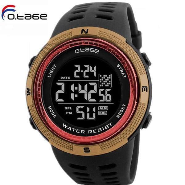 OTAGE Mens Sports Double Countdown Watch Chronograph Watch Digital Sports Watch Fashion Mens Watch Casual Mens Watch Business Mens Watch Malaysia