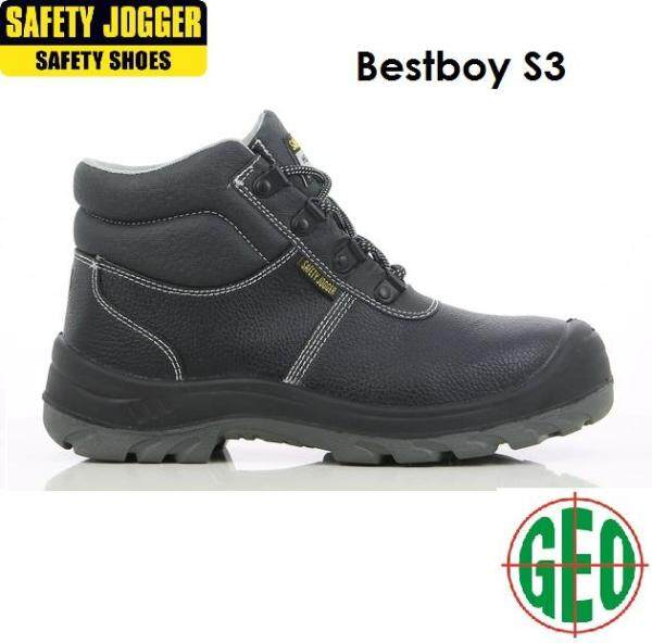 SAFETY JOGGER BESTBOY SAFETY SHOES (BLACK) [ GEOLASER ]